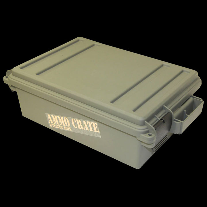 Ammo Crate Utility Box - Army Green (ACR4-18)