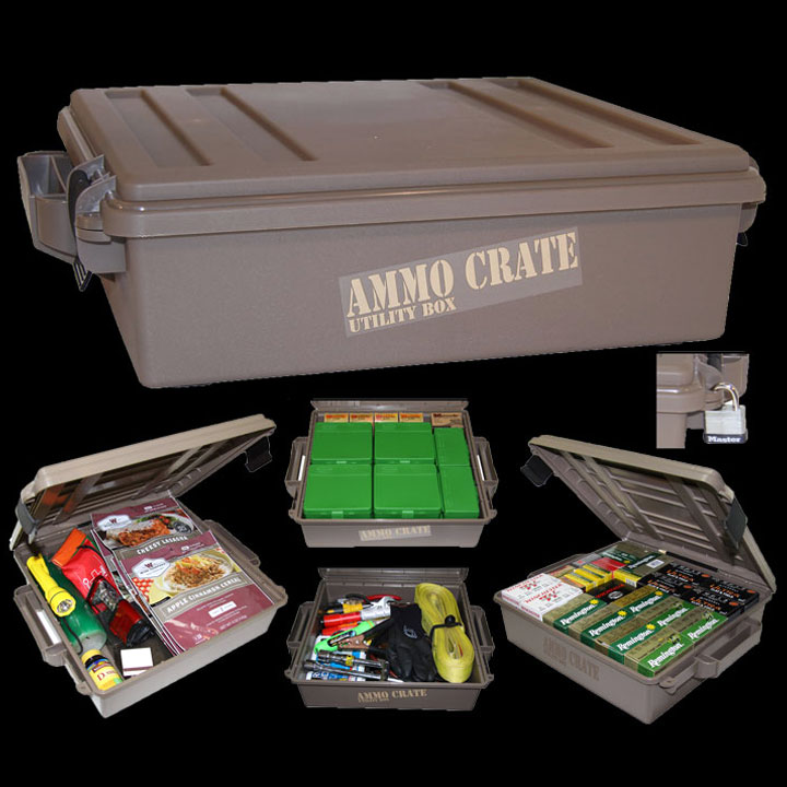 Ammo Crate Utility Box - Dark Earth (ACR5-72)