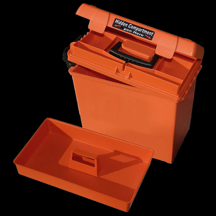 MTM Casegard Sportsmen's Plus Utility Dry Box Orange (SPUD2-35)